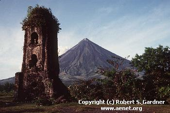 Majestic Mayon Volcano In The Philippines. Photo from Robert Gardner